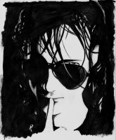 Andrew Eldritch by PoisonousFox