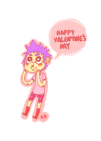 happy valentines day by sharkteefs
