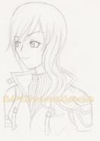 Lightning Farron-Sketch by ChaosSoda