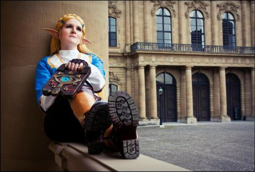 Zelda - Breath of the Wild by Fall3nW1ngs