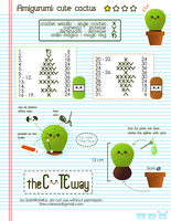 .:Kawaii cactus:. pattern by SaMtRoNiKa
