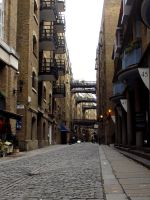 Behind Butlers Wharf by soXsiting