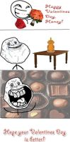 Forever Alone With Chocolate by LittleThought18