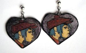 2D Earrings by Psycho7772