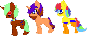 MORE FOALS by MephilesfanforSRB2