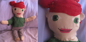 Evo Rahne plushie by Mini-Wolfsbane