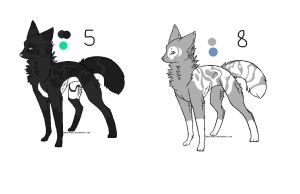 My recently brought Adopts by Alpha-Female13