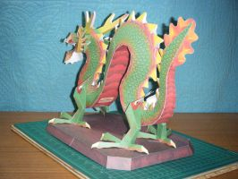 Chinese Luck Dragon Statue 10 by devastator006