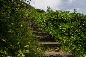 Old stairs in Yehliu park by AneiKhaar
