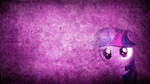 The brand of quiet - Twilight Sparkle Wallpaper by Amoagtasaloquendo