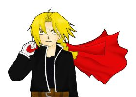 Edward Elric by Hazy-Reverie