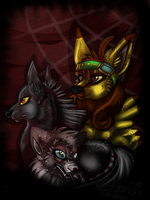 Strayed souls by HyenaChann