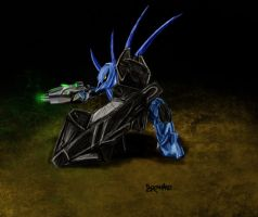 Hunter Is Chargin' His Lazers by Broshang