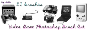 Video Game Console Brushes by punkdoutkittn