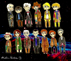 The Thirteen Doctors by Zal001