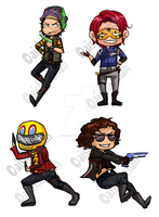Danger Days Stickers by aishie-chan