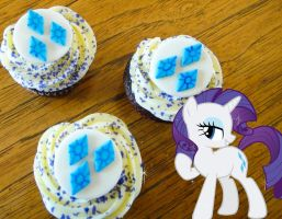 Rarity's Decadent Red Velvet Cupcakes by LadyGryffindor