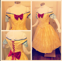 Snow White Party Dress by glimmerwood