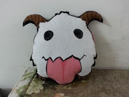 Handmade League of Legends LOL Poro Pillow by RbitencourtUSA