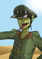 Murdoc Dirty Harry by Vey-kun