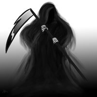 Grim Reaper by Megalomaniacaly
