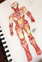 Iron Man Sketch by WitTea