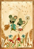 Cute mouse by haniutek