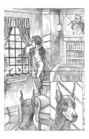 D. Dogs Page 1 Pencils by Alan-Gallo