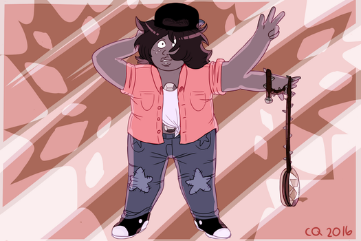Smoky Quartz by lenaletras