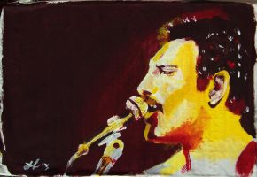 Freddie Mercury #2 by Guner09