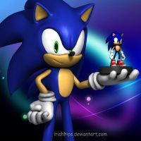 Sonic Aventure 2 Tribute (300th Deviation) by Irishhips