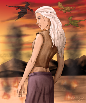 Mother of Dragons by sbrigs