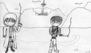 Light and I in New Vegas by 1odie2