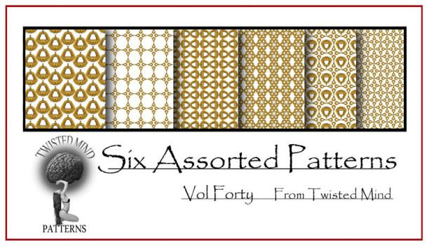 Twisted Mind Assorted Pattern Set 40 by Textures-and-More