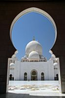 Abu Dhabi - Grand Mosque 4 by LeighWhittaker