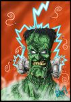 Electric Frankenstein by DickStarr