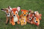 Bambi plush Collection by Laurel-Lion