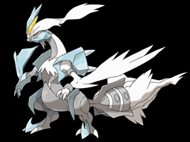 White Kyurem by Pokekawaii
