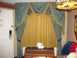 Resort Room Drapes 1 by WDWParksGal-Stock