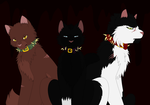 Bloodclan Leader and Generals by NighshadeIceheart