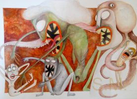 Monsters by SabinaMeschisi