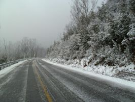 Icy Road 001 - HB593200 by hb593200