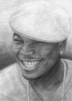 Ne-Yo Portrait by DeeShine