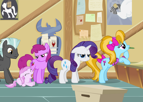 MLP FiM - Post Office by sigmavirus1