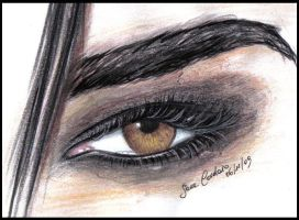 Bill Kaulitz Look into my eye by sarath90