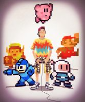 8bit Gamer Boy by Andry-Shango