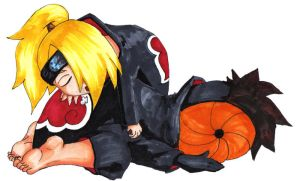 Being in Akatsuki is Hard by thegeekpit