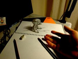3D Drawing - Appearance by NAGAIHIDEYUKI