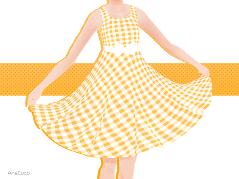 .:: MMD COMMISSION - Lil dress ::. by AneCoco