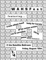 WAHSFest Flyer the First by BasSnowbrdr